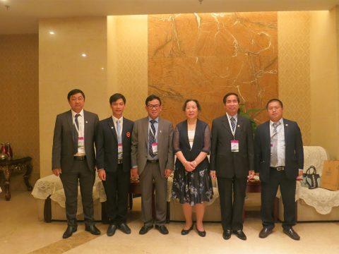Liên đoàn Cờ tướng Việt Nam vinh dự nhận giải thưởng cống hiến vì sự phát triển phong trào Cờ tướng do liên đoàn Cờ tướng Châu Á trao tặng.