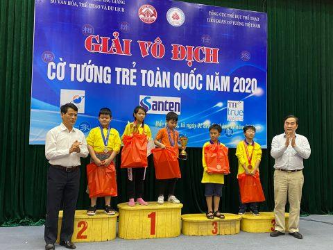 Kết thúc giải Cờ Tướng trẻ toàn Quốc 2020